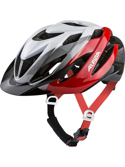 Alpina Lavarda Helmet white-red-black